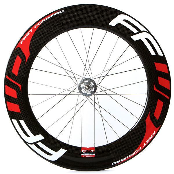 FFWD Wheels F9T Tubular Track Rear Wheel Red