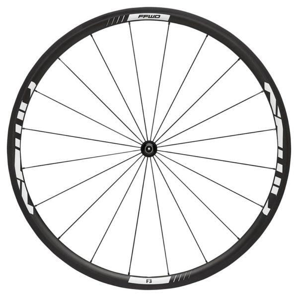 FFWD Wheels F3R 30mm Carbon DT350 DT240 Front Wheel White