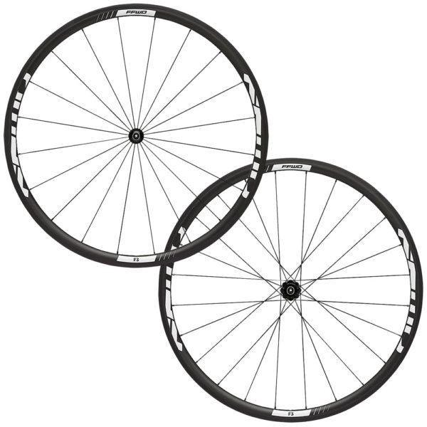 FFWD Wheels F3R 30mm Carbon DT350 DT240 Wheel Set White
