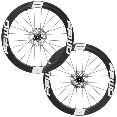 FFWD Wheels F6D 60mm Carbon Disc Brake DT350 DT240 Wheel Set Black