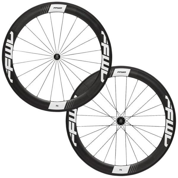 FFWD Wheels F6R 60mm Carbon DT350 DT240 Wheel Set White
