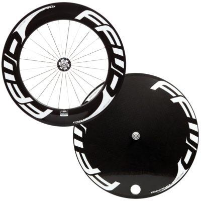 FFWD Wheels F9T DISC-T Track Wheel Set White