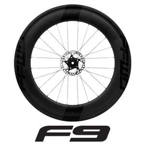 FFWD Wheels F9 90mm Series Carbon Cycling Wheels