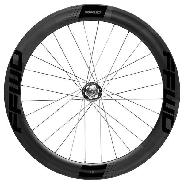 FFWD Wheels F6T 60mm Fixed Gear Tubular Track Wheel Rear Black