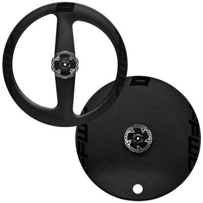 FFWD Wheels Falcon 2 Spoke and DISC SL Disc Brake Carbon Wheel Set Black