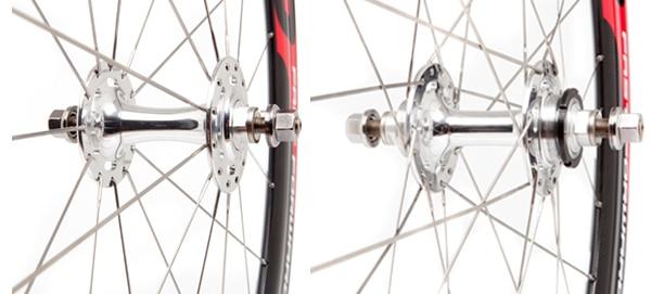 FFWD Wheels Track Hubs