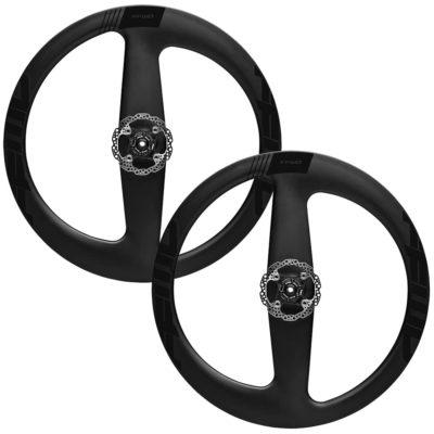 FFWD Wheels Falcon 2 Spoke Carbon Clincher Disc Brake Wheel Set Black