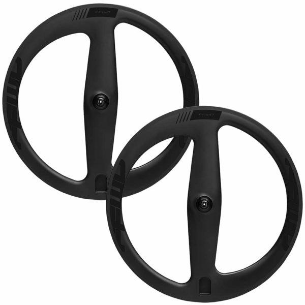 FFWD Wheels Falcon 2 Spoke Carbon Clincher Wheel Set Black