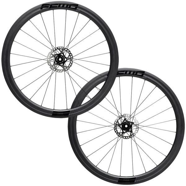 FFWD Wheels TYRO 45mm Carbon Clincher Wheel Set Black