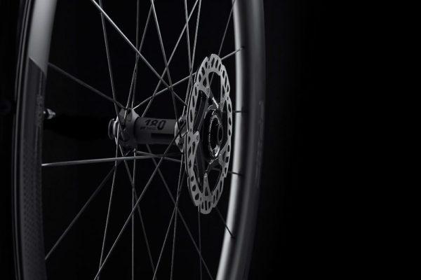 FFWD Wheels RAW 44mm DT180 EXP Carbon Clincher Disc Brake Wheel 2