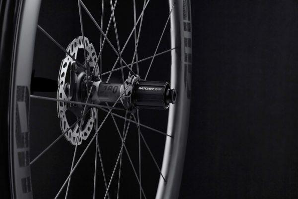 FFWD Wheels RAW 44mm DT180 EXP Carbon Clincher Disc Brake Wheel 3