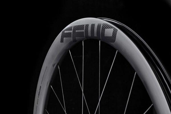 FFWD Wheels RAW 44mm DT180 EXP Carbon Clincher Disc Brake Wheel 4