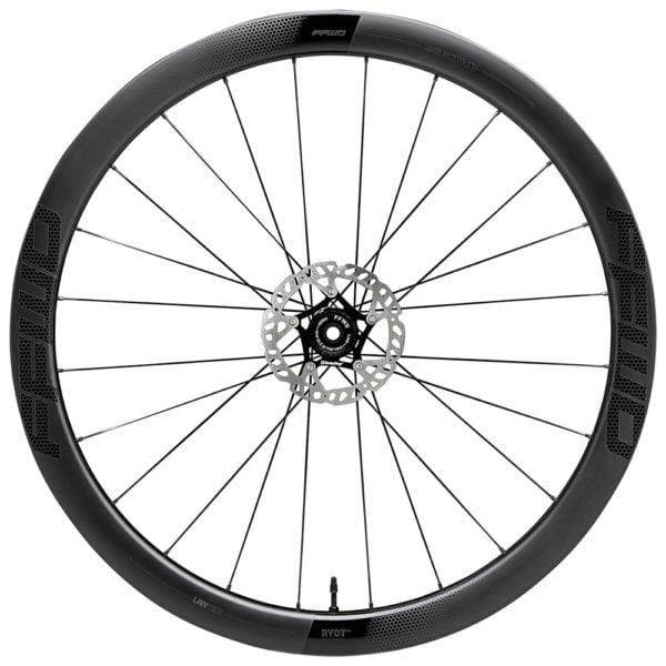FFWD Wheels RYOT 44mm DT240 EXP Carbon Clincher Disc Brake Wheel Front