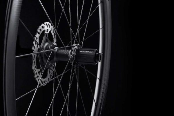 FFWD Wheels RYOT 44mm DT240 EXP Carbon Clincher Disc Brake Wheel 4