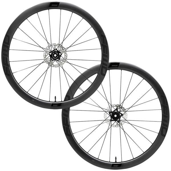 FFWD Wheels RYOT 44mm DT240 EXP Carbon Clincher Disc Brake Wheel Set