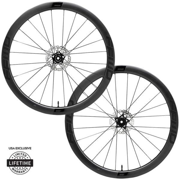 FFWD Wheels RYOT44 44mm DT240 EXP Carbon Clincher Disc Brake Wheel Set
